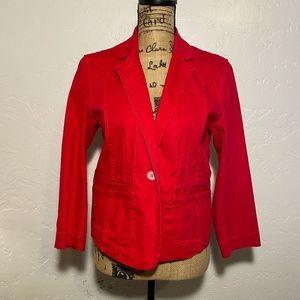 Isaac Mizrahi blazer/jacket, size large